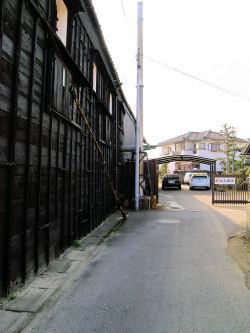 (株)丸又商店訪問記3黒壁
